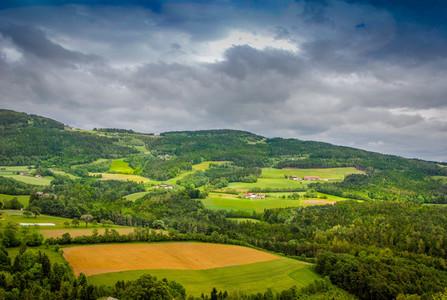 Hills Panorama   autumns