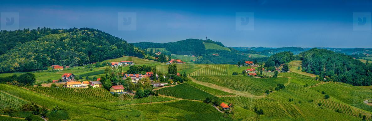 Panorams   wine hills