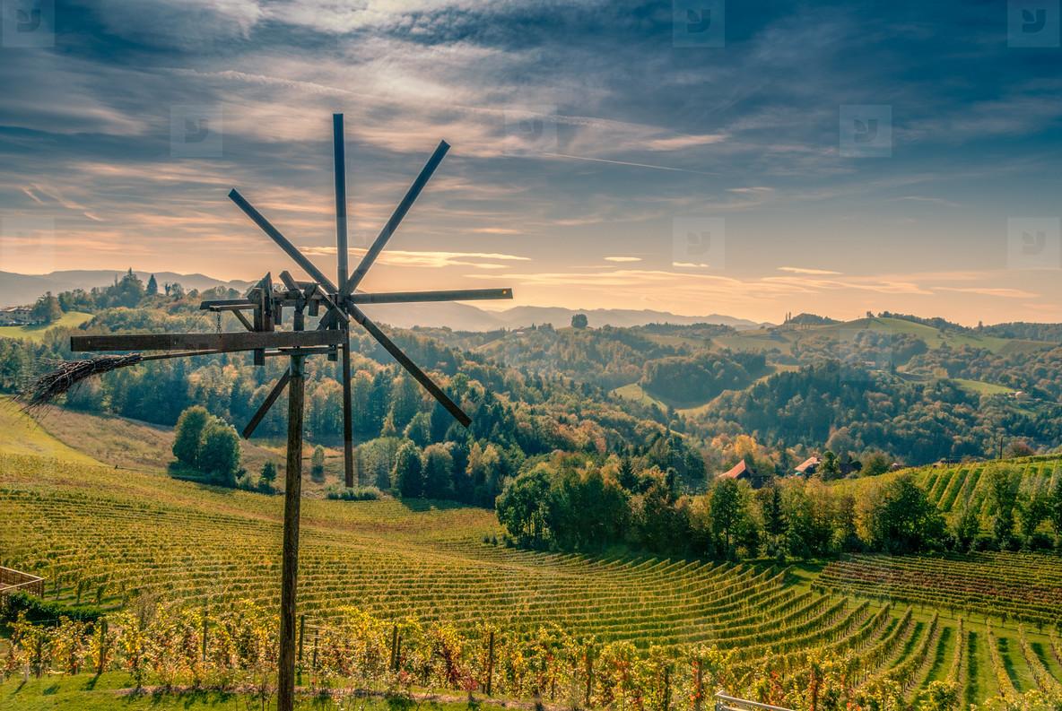 romantic windmill