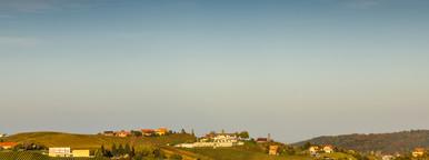 Romantic landscape  hills
