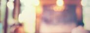 Blurred background at cafe