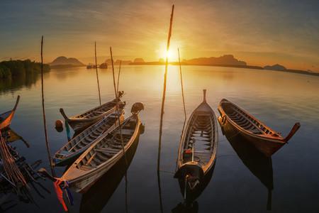 Asian Boats