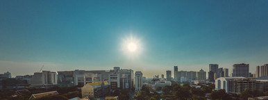 Sunset of Bangkok