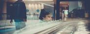 Boy Pondering Ice Cream