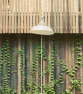 Old lamp hanging outdoor