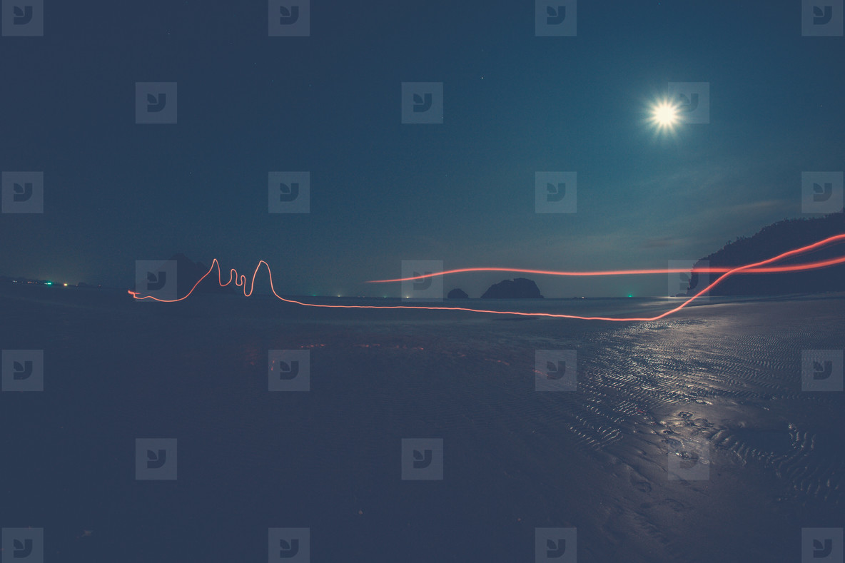 Dark Light Trails