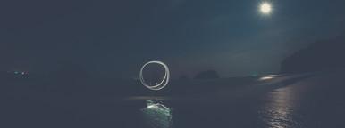 Circular Light Trails