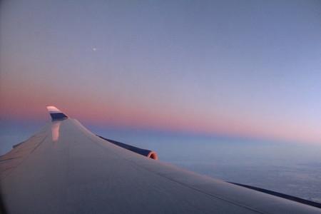 747 Sunset