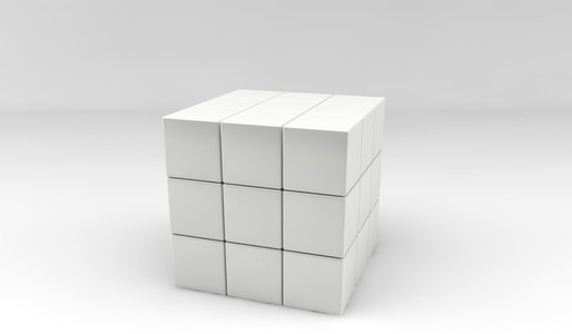cube out of cubes