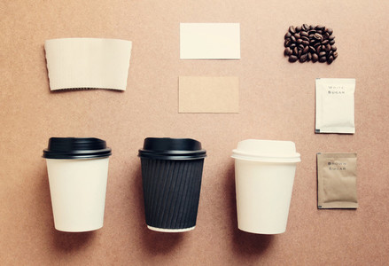 coffee mock up for identity