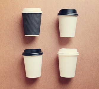 Paper coffee cup mock up