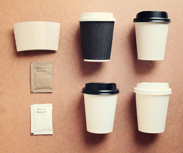 Coffee cup mock up for identity