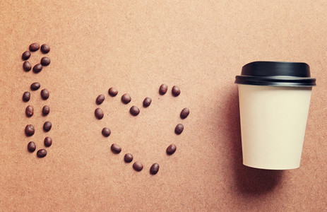 I love coffee from coffee beans