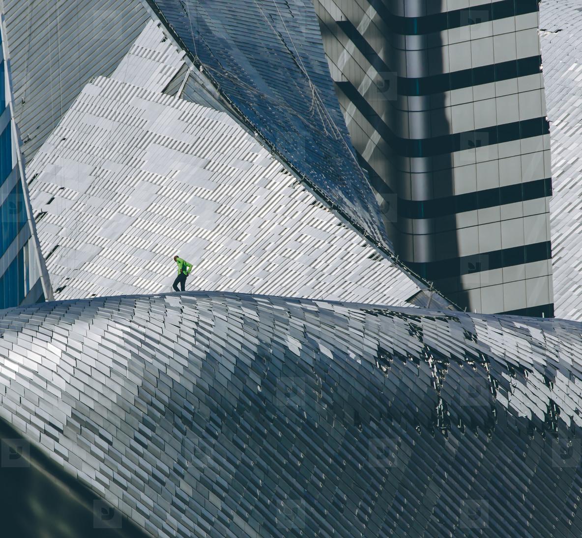 Skyscraper Worker