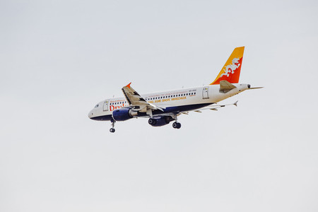Drukair Airplane