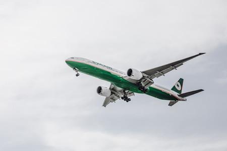 EVA Airlines Airplane