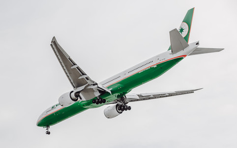 EVA Airlines Airplane