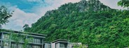 Tropical resort  mountain