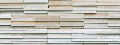 White Modern Stone Wall