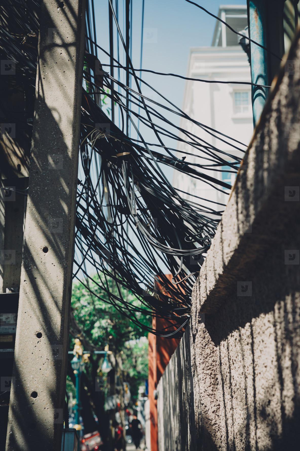 Bangkok Power Lines