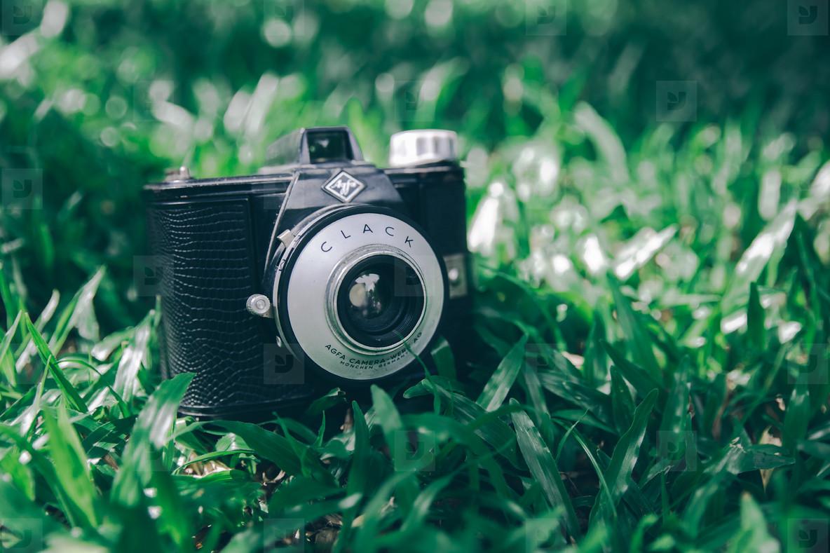 Retro Agfa Clack Camera