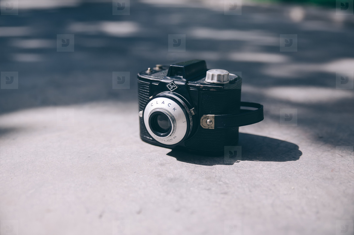 Retro Agfa Clack Camera