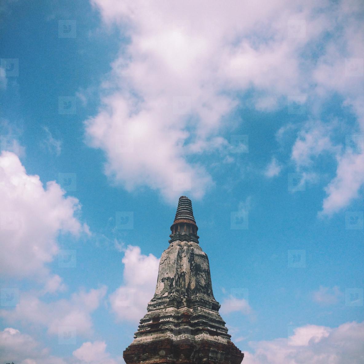 Temple at Ayutthaya  Thailand