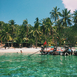 Lovely Beach  Koh Tao  Thailand