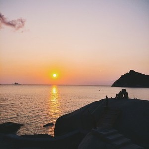 Sunset at Koh Tao Thailand