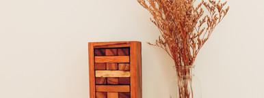 Blocks wooden jenga game