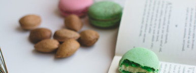 Relax time with macarons