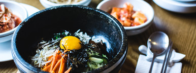 Closeup Korean Food