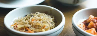 Noodles  Korean food