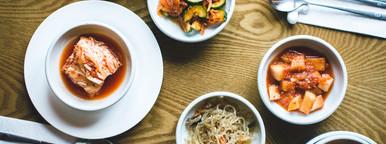 Kimchi Korean Food on table