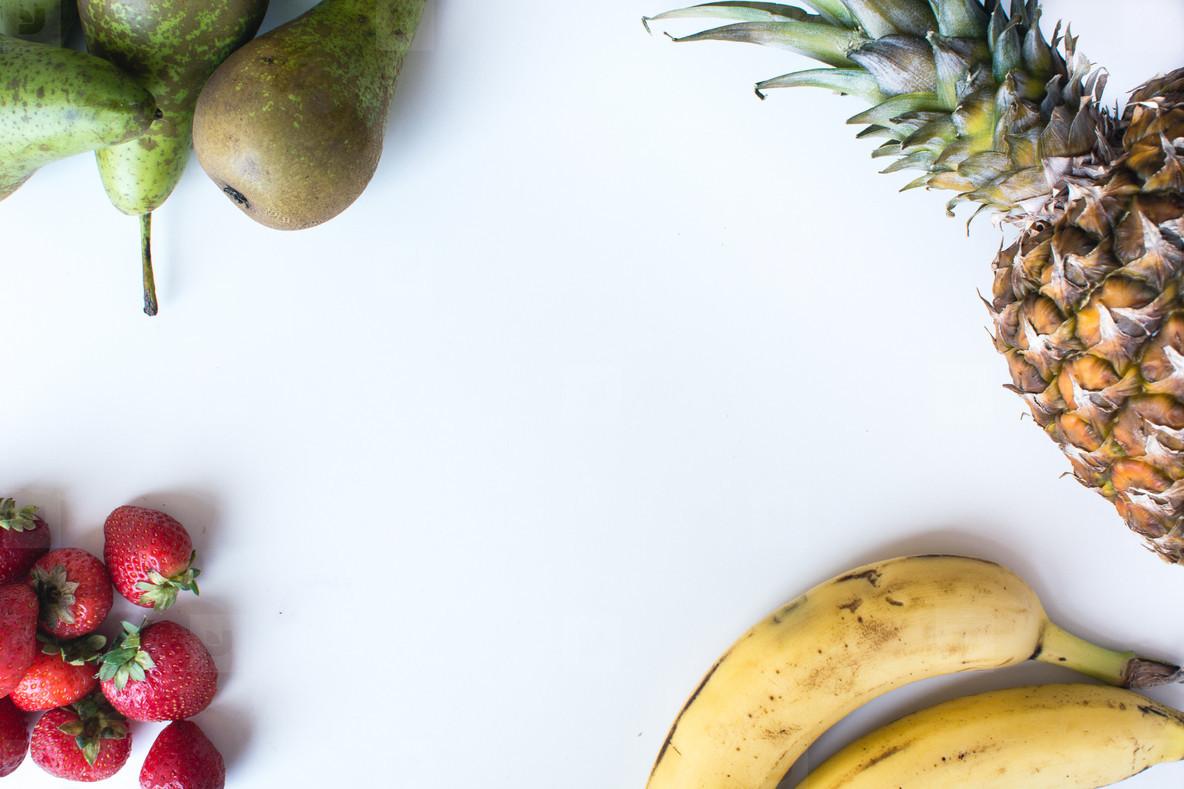 Fresh Fruits isolated
