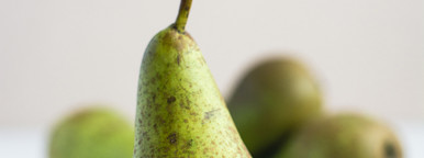 Close up Green Pears