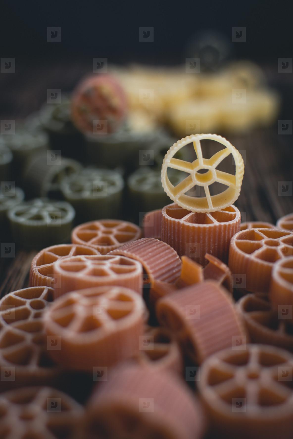Circles pasta  3