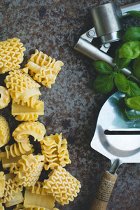 Raw Pasta with Tools 1