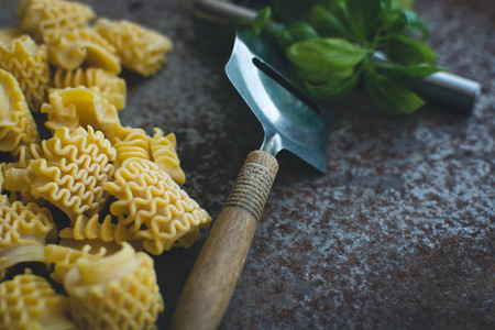 Raw Pasta with Tools  3