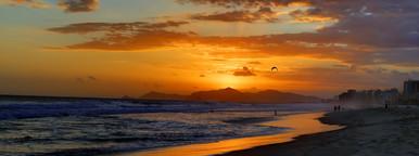 Sunset on Barra Beach
