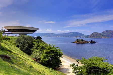 Spaceship with a View  Niteroi