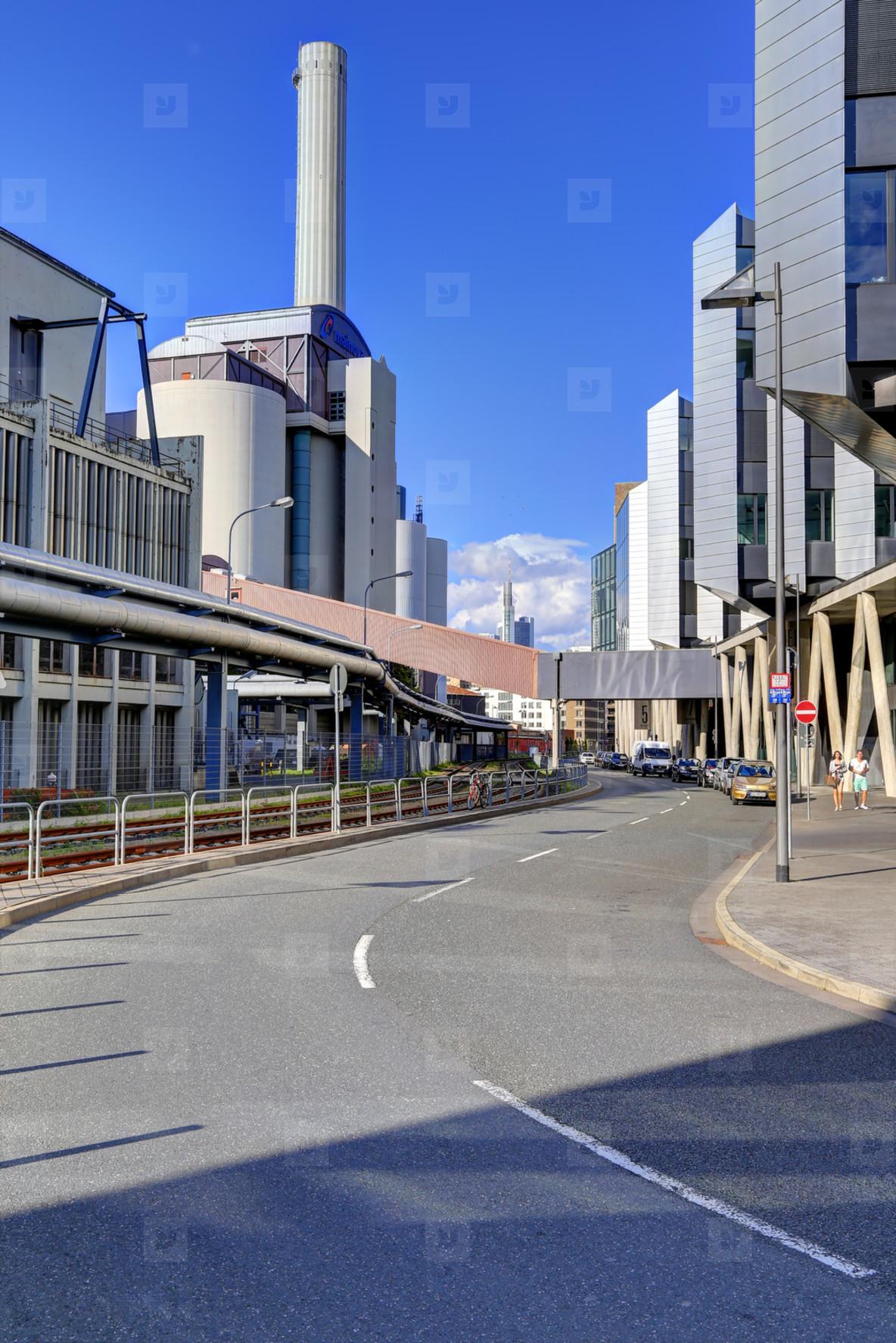 Frankfurt Westhafen Power Plant