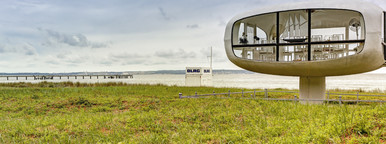 Binz   Space Age Lifeguard Tower