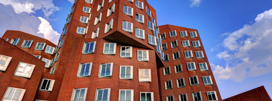 Dusseldorf Gehry Red