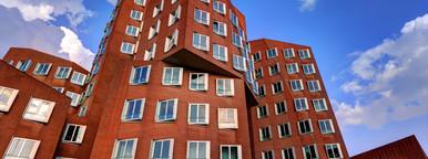 Dusseldorf Gehry Red