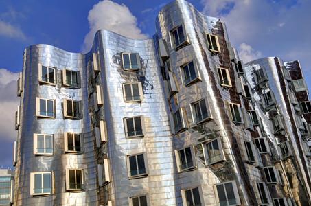 Dusseldorf Gehry Silver 2