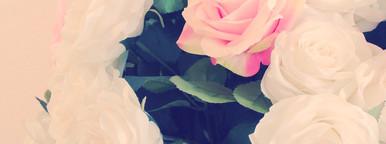 Bunch of rose in vase