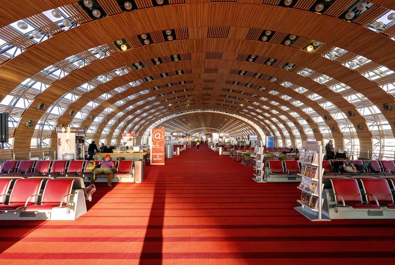 Paris CDG Terminal Interior  2