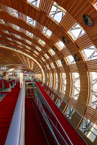 Paris CDG Terminal Interior  1