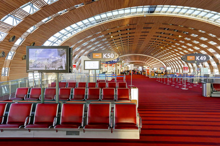 Paris CDG Terminal Interior 4